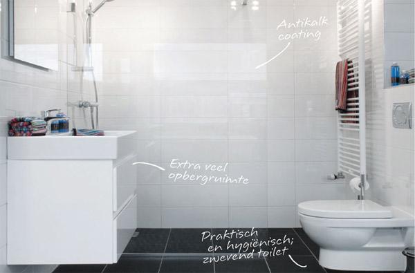 kosten complete badkamer: badkamer set incl tegels, Badkamer